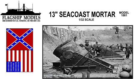 Flagship Models Seacoast Mortar