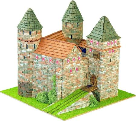 Scale 1:87 Dimensions Inches 9.5 x 9.1 x 10.0 3702 Pieces