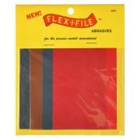 FLX801 Pack of 4 Sanding Sheets. (150, 280, 320, 600 grit)