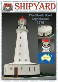 North Reef Lighthouse 1:72 - Shipyard ML006 - Laser Cut Model