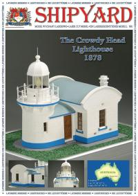 Crowdy Head Lighthouse 1878 1:87 (HO) - Shipyard ML002 - Laser Cut Model