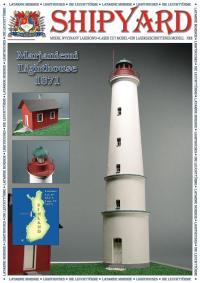 Marjaniemi Lighthouse 1:72 - Shipyard ML011 - Laser Cut Model
