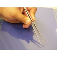 Precision Reverse Action Tweezers - Straight Tip