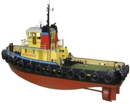 Model Slipways Wyeforce Mooring Tug