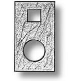 4298/02 Mast Bowsprit Cap 13mm