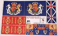 5700/13 Sovereign of the Seas Flag set