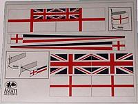 5700/15 HMS Victory Flag set