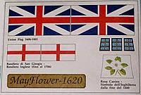 5700/19 Mayflower Flag set