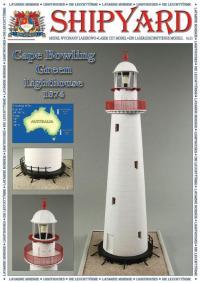 Cape Bowling Green Lighthouse 1874 1:87 (HO) - Shipyard ML062 - Laser Cut Model
