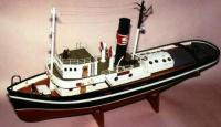 Hercules Steam Tug - Saito RC boat kit