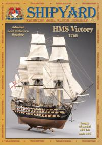 HMS Victory GOLD EDITION 1:96 - Shipyard MK002 - Paper Model