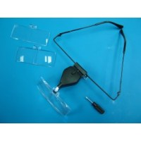LED Magnifying Glasses w/3 Lenses LC1768