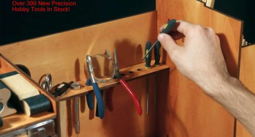 WoodenModelShipKit Adds The Complete Line of Model Craft Tools