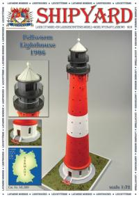 Pellworm Lighthouse 1906 1:72 - Shipyard ML089 - Laser Cut Model