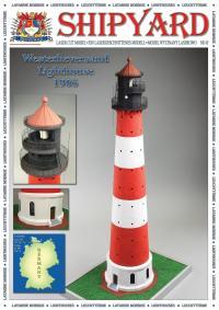 Westerheversand Lighthouse 1906 1:87 (HO) - Shipyard ML085 - Laser Cut Model
