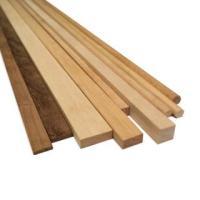 AM2410/06 Walnut Wood Strips 6mm x 6mm (10)