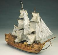 Black Falcon Pirate Ship - MA768
