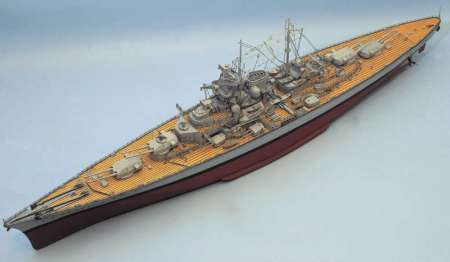 TIRPITZ battleship and Fitting Set