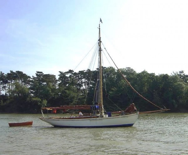 37 Gaff Cutter Yacht For Sale