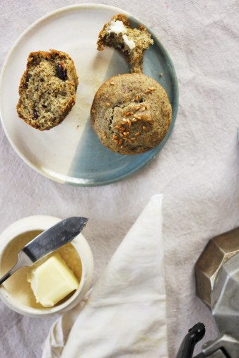 cranberry flax muffin gluten free vegan