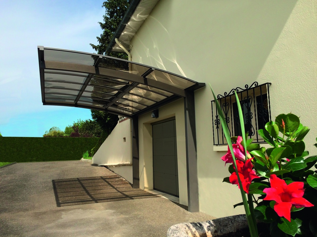 carport aluminium oxygen novoferm