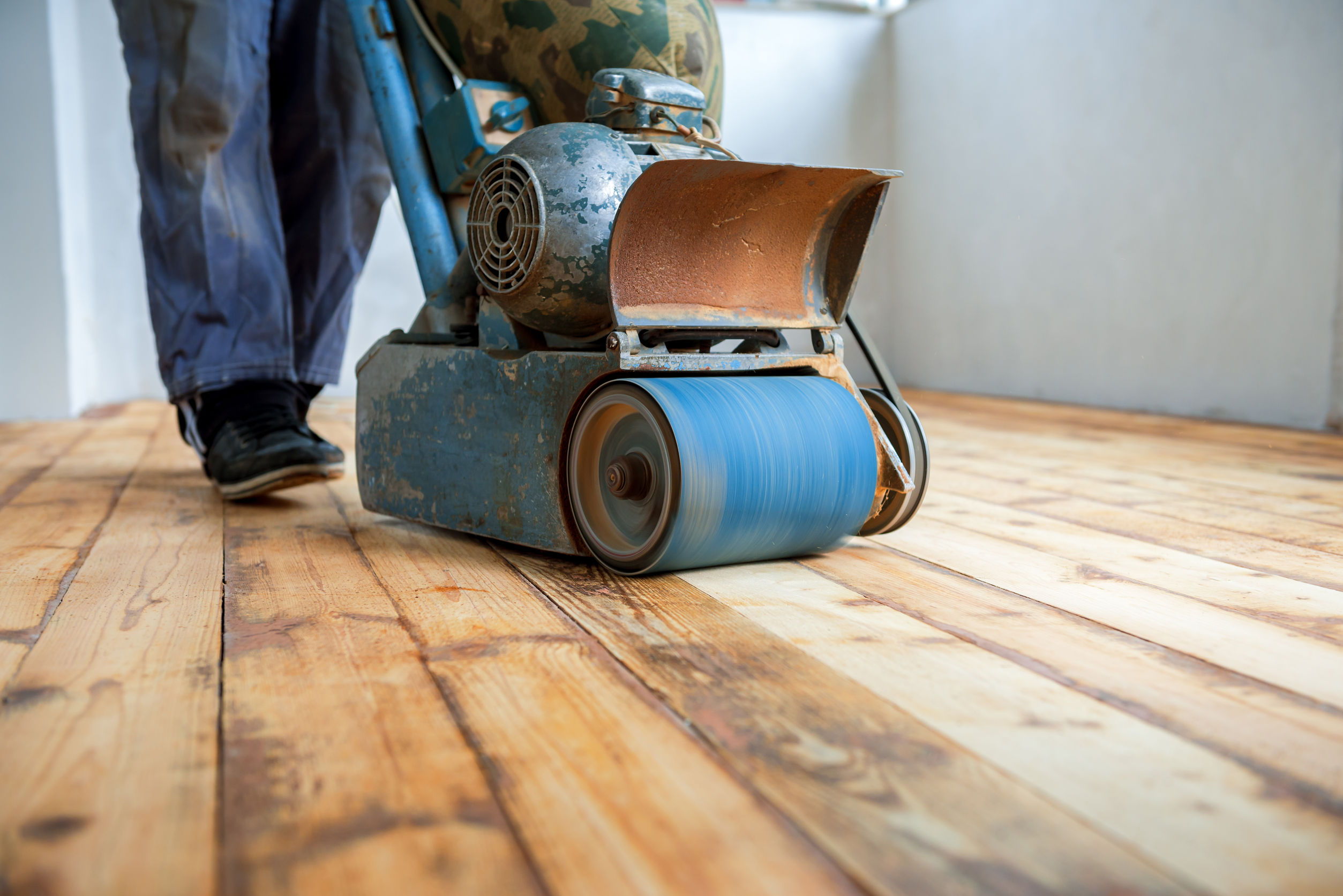 How To Sand Wood Floors Like A Professional Without