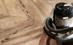Hardwood floors finish