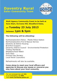 Daventry Rural Com Event