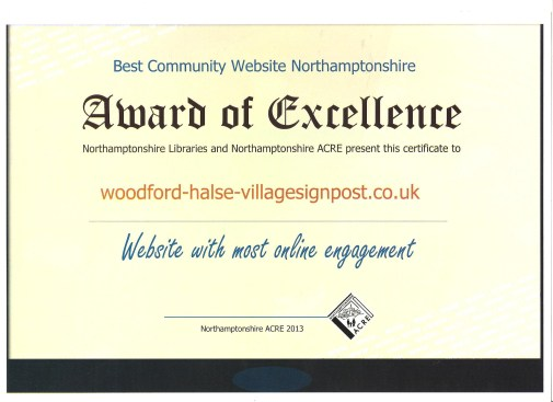 Web site award 001