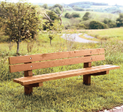 """Hawthorne"" approved bench"