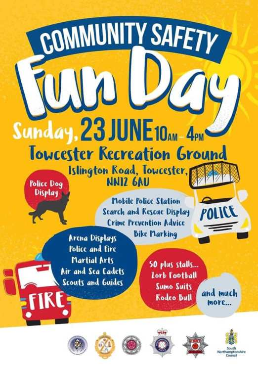 Emergency Services Fun Day 2019 Poster