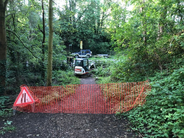 Station Road Access Work