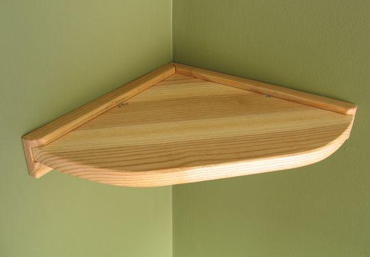 Building a small corner shelf
