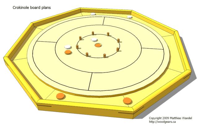Crokinole board plans