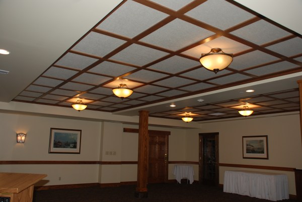 WoodGrid174 Coffered Ceilings by Midwestern Wood Products Co