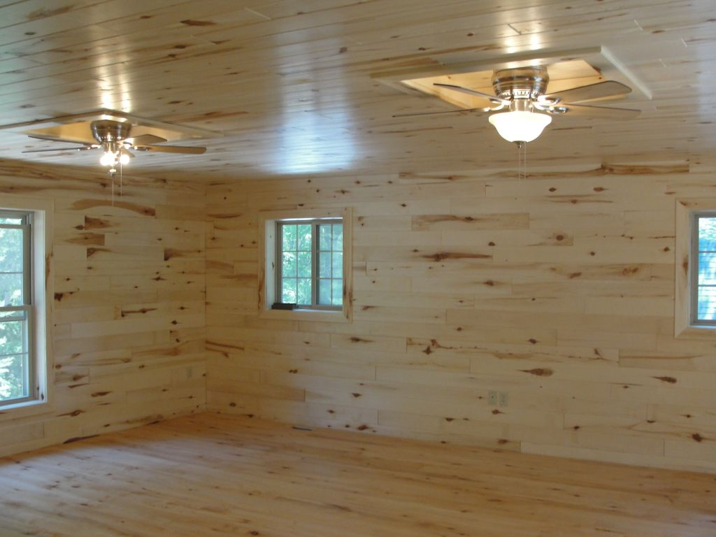 Ceilings Walls Pine Using And Wainscoting