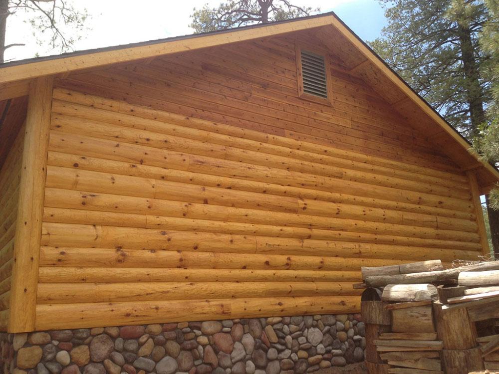 Fatboy Log Siding Woodhaven Log Amp Lumber