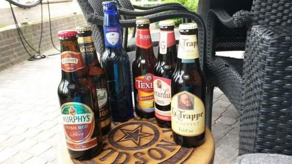Harley bier tafel