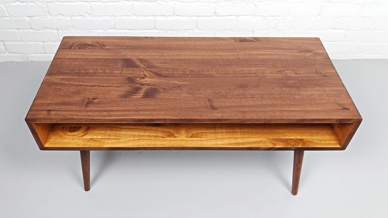 mid century modern retro coffee table