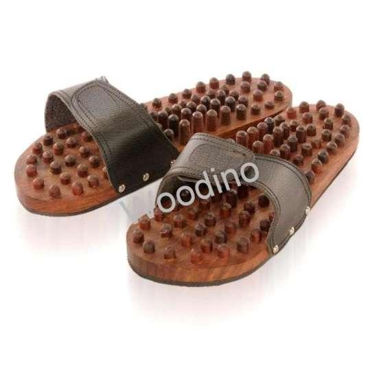 Woodino Acupressure Wooden Slipper