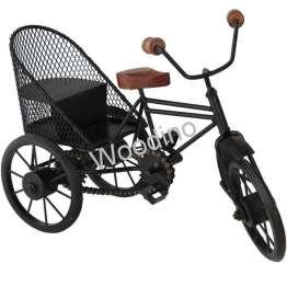 Woodino Wrought Iron Wooden Grill Jaali Rickshaw