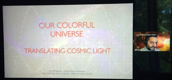 Our Colorful Universe Translating Cosmic Light