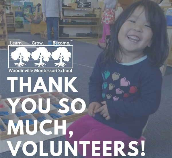 Thank you so much, volunteers!