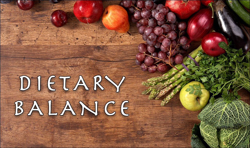 3 Important Things to Know about Dietary Balance