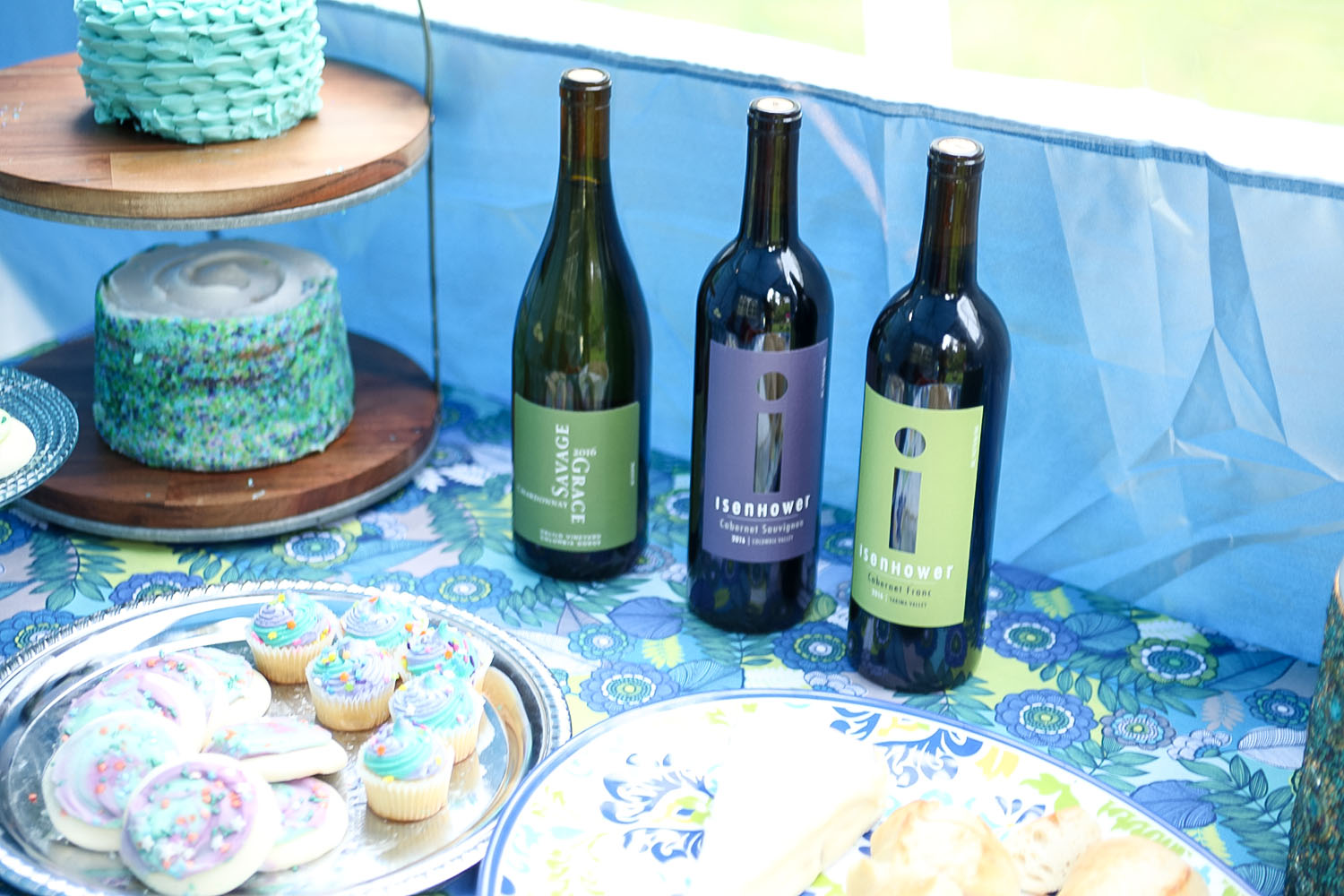 Magical Mermaid Desserts in a Mystical Tent at Our Wine Party - Woodinville Wine Blog & Magical Mermaid Desserts in a Mystical Tent at Our Wine Party ...
