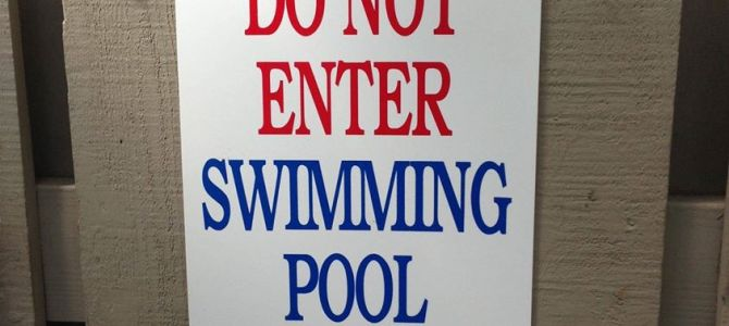 Pool closed July 15