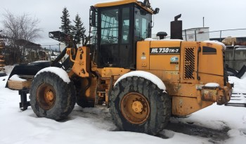 Hyundai HL730-7TM Wheel Loader full