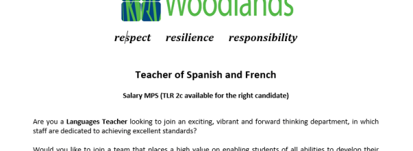 MFL Teacher Vacancy