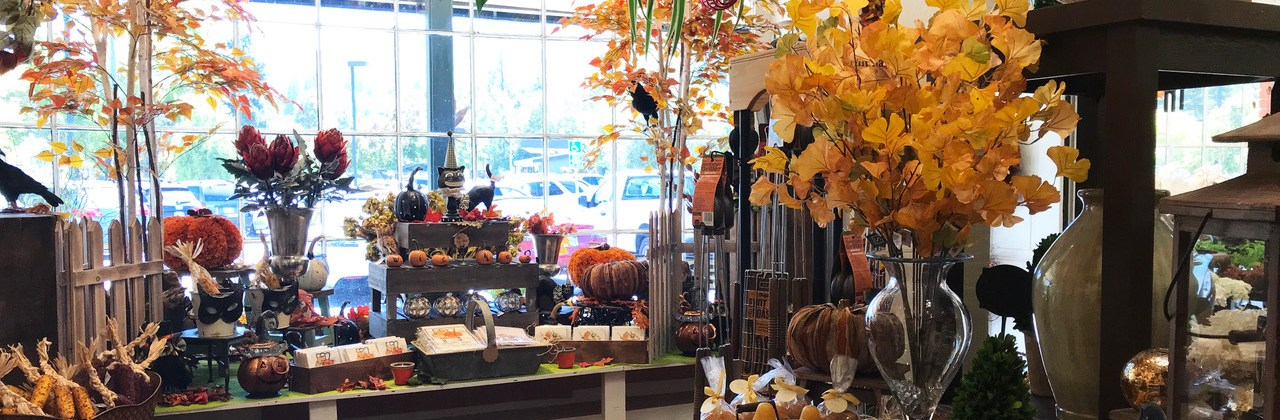 Decorate for the Fall Season with the Woodlands Garden Shop