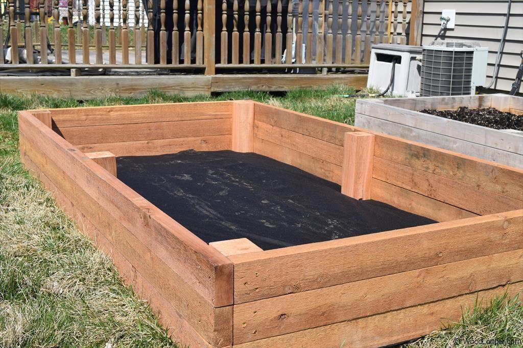 Raised Garden Bed - WoodLogger on Backyard Raised Garden Bed Ideas id=12788